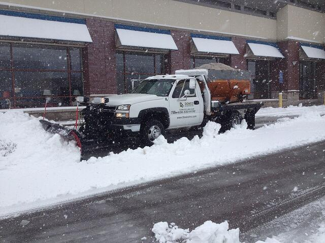 commercial snow removal chesterfield