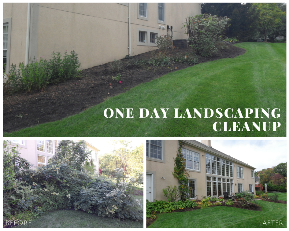 Chesterfield, MO One Day Landscape Cleanup Project