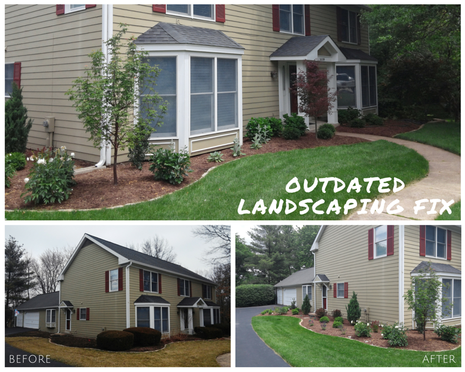 Chesterfield, MO Outdated Landscape Design and Install Project