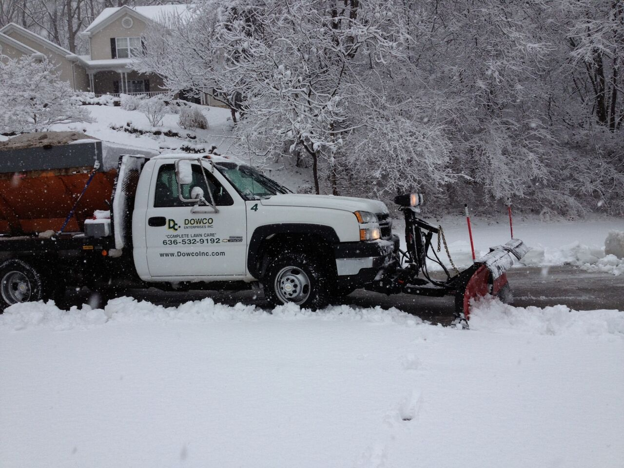 Dowco Subdivision Snow Removal Chesterfield, MO