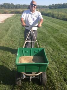 Seeding at Dowco