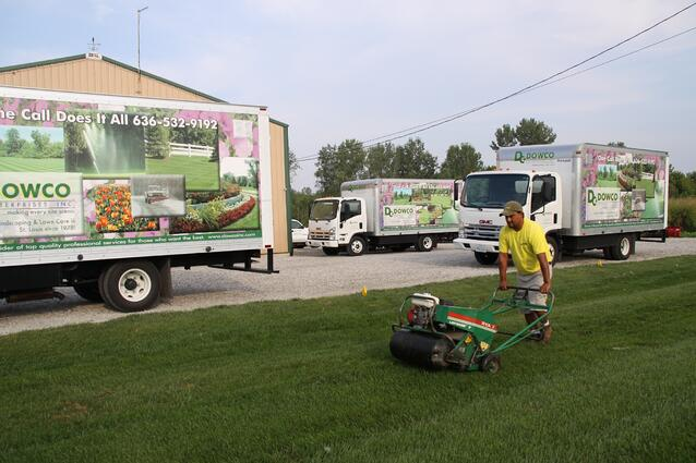 Dowco Lawn Aeration